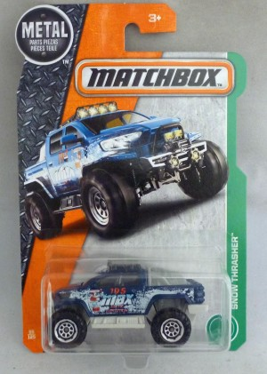 Matchbox MB55 Snow Thrasher