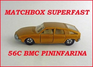 Matchbox Superfast MB56 BMC 1800 Pininfarina 56c