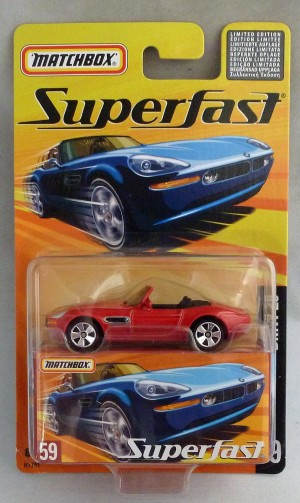 Matchbox Superfast MB59 BMW Z8 Red