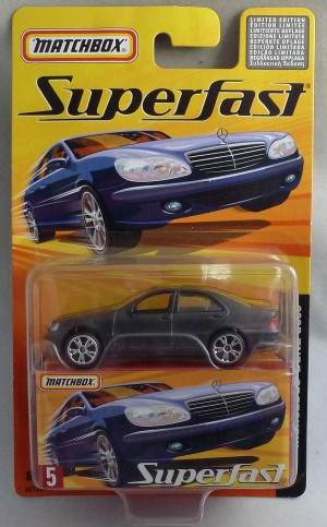 Matchbox Superfast MB5 Mercedes Benz S500 Metallic Grey