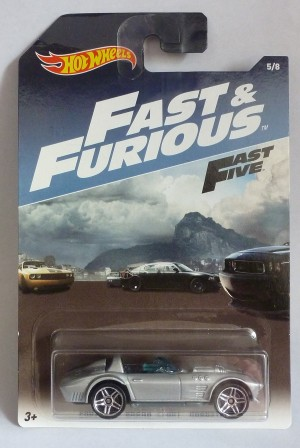 HotWheels Fast & Furious Corvette Grand Sport Roadster 5/8