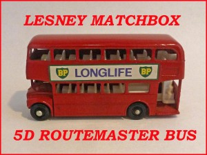 Matchbox Toys MB5d Routemaster Bus