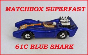 Matchbox Superfast MB61 Blue Shark 61c