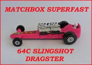 Matchbox Superfast MB64 Slingshot Dragster 64c