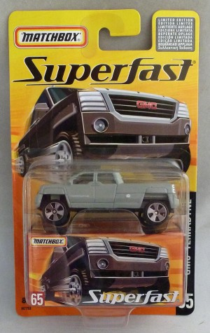 Matchbox Superfast MB65 GMC Terradyne Grey