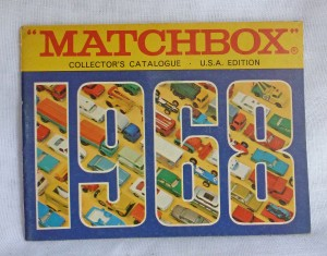 Matchbox 1968 USA Edition Pocket Catalogue