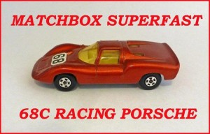 Matchbox Superfast MB68 Racing Porsche 910 68c