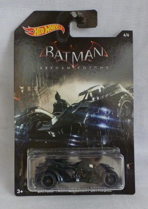 HotWheels Batman Arkham Knight Batmobile 6/6