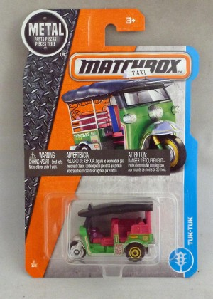 Matchbox MB6 Tuk-Tuk Long Card