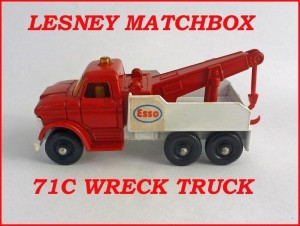Matchbox Toys MB71 Ford Wreck Truck 71c