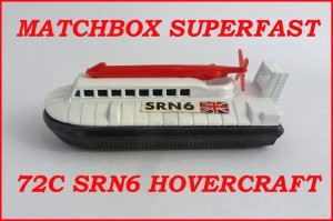Matchbox Superfast MB72 Hovercraft 72c