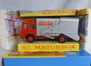 Matchbox King Size K-7 Refuse Truck