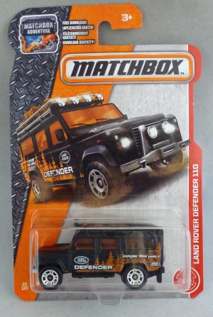 Matchbox MB84 Land Rover Defender 110