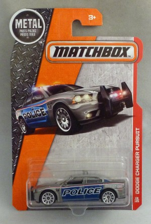 Matchbox MB86 Dodge Charger Pusuit