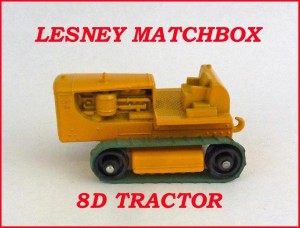 Matchbox Toys MB8 Caterpillar Tractor 8d