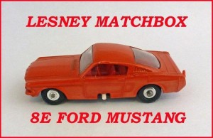 Matchbox Toys MB8 Ford Mustang 8e