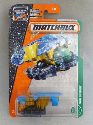 Matchbox MB90 Sub Seeker Long Card