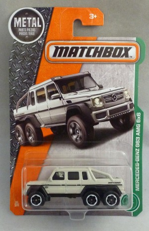 Matchbox MB91 Mercedes Benz AMG 6x6 Vehicle