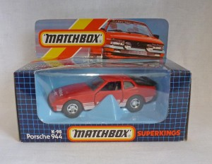 Matchbox SuperKings K-98 Porsche 944 Red