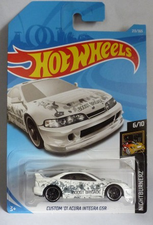 "HotWheels Custom '01 Acura Integra GSR Boost Brigade ""Nightburnerz"""