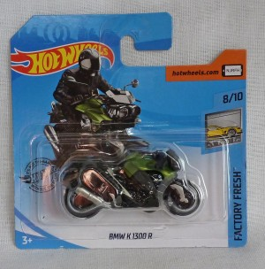 "HotWheels BMW K 1300 R Motorcycle ""Factory Fresh"" 8/10"