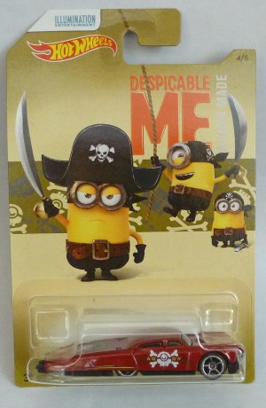 HotWheels Despicable Me Minion Slikt Back 4/6