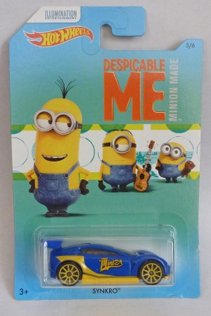 HotWheels Despicable Me Minion Synkro 5/6