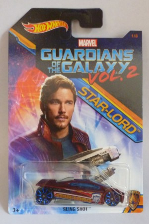 HotWheels Marvel Guardians Of The Galaxy Vol.2 Star-Lord Sling Shot 1/8