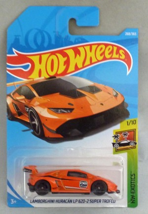 HotWheels Lamborghini Huracan LP 620-2 Super Trofeo Orange