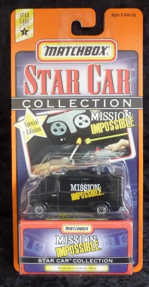 "Matchbox Star Collection ""Mission Impossible"" Surveillance Van"