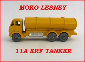 Moko Lesney Matchbox MB11 ERF Road Tanker 11a