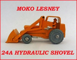 Moko Lesney Matchbox MB24 Hydraulic Shovel 24a
