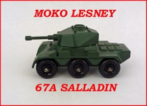 Moko Lesney Matchbox Saladin Armoured Car 67a