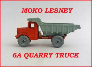 Moko Lesney Matchbox Quarry Truck 6a