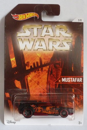 "HotWheels Star Wars ""Mustafa"" Fast Fish 2/8"