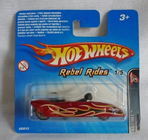"HotWheels Outsider Sidecar ""Rebel Rides"""