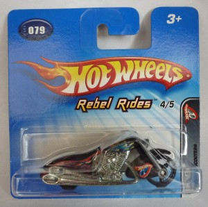 "HotWheels Scorchin' Scooter ""Rebel Rides"""
