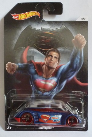 "HotWheels Super Heroes ""Superman"" Covelight 4/7"