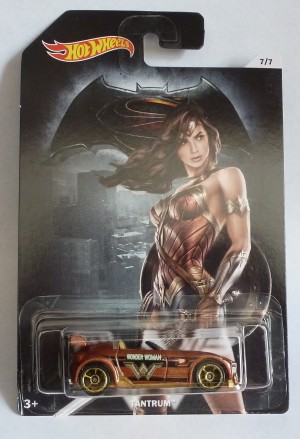"HotWheels Super Heroes ""Wonder Woman"" Tantrum 7/7"