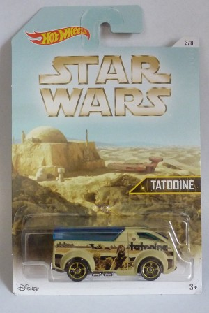 "HotWheels Star Wars Tatooine ""The Vanster"" 3/8"