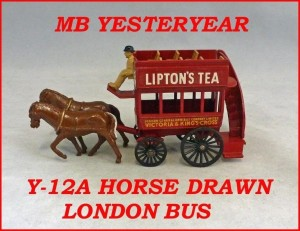 Matchbox Models of Yesteryear Y-12a Horse Drawn Bus