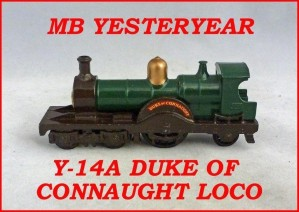 Matchbox Models of Yesteryear Y-14a Duke of Connaught Loco