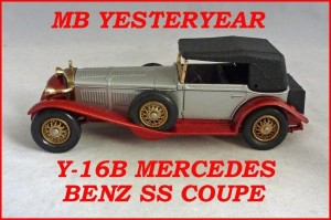 Matchbox Models of Yesteryear Y-16b 1928 Mercedes SS