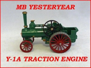 Matchbox Models of Yesteryear Y-1a Alchin Traction Engine