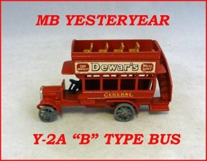 Matchbox Models of Yesteryear Y-2a B Type Bus