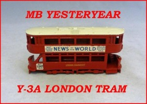 Matchbox Models of Yesteryear Y-3a London Tramcar