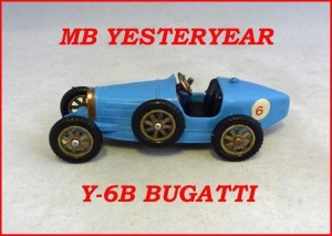Matchbox Models of Yesteryear Y-6b Supercharged Bugatti