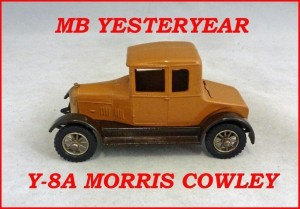 Matchbox Models of Yesteryear Y-8a Morris Cowley