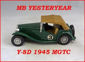 Matchbox Models of Yesteryear Y-8d 1945 MGTC