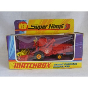 Matchbox SuperKings K-9 Claas Combine Harvester